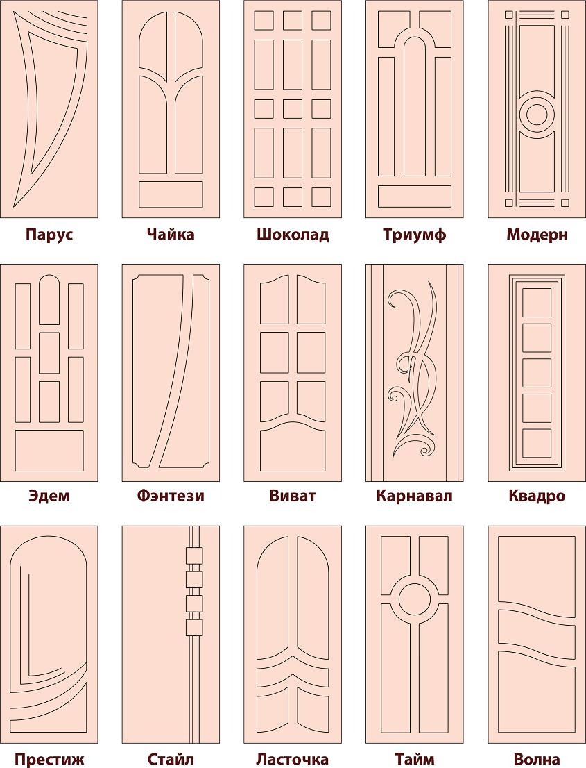 дверные накладки 2