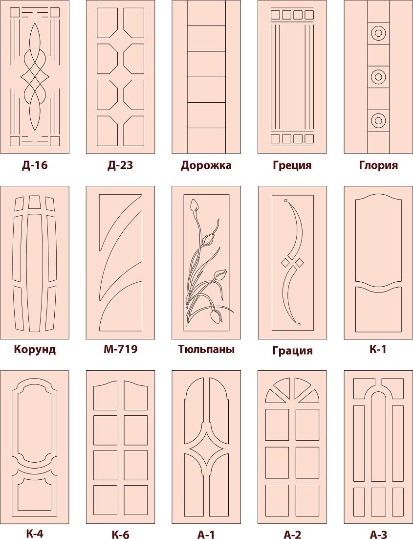 дверные накладки 3