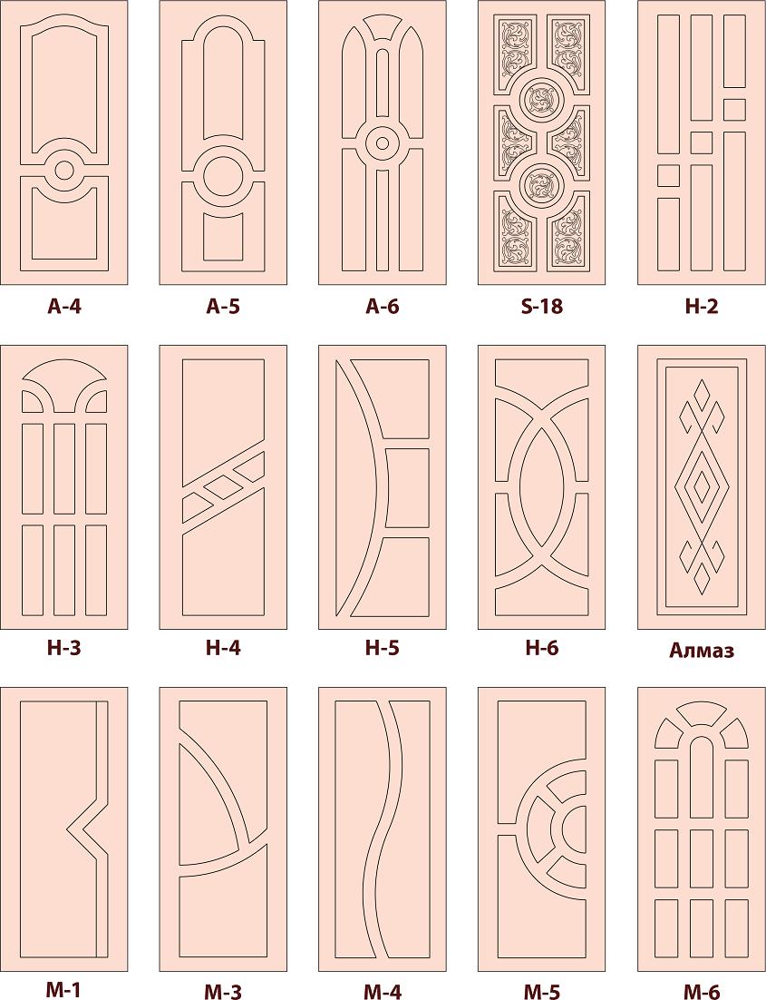 дверные накладки 4