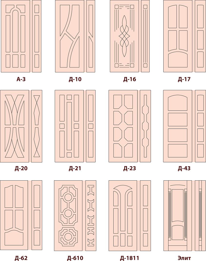 дверные накладки 5