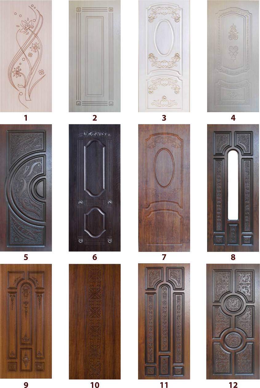 дверные накладки 6