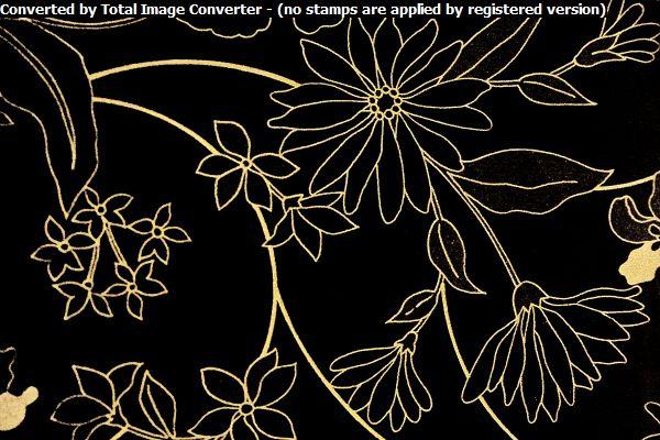 Черная орхидея глянец