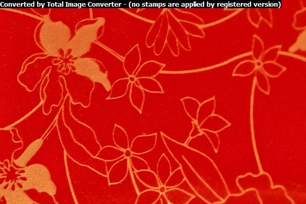 Красная орхидея глянец